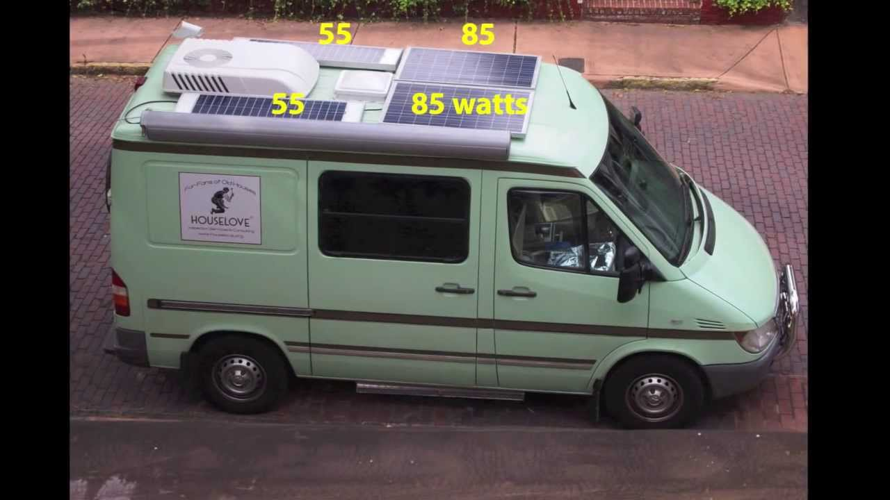 Diy Van Conversions >> Custom Camper Van Conversion, Part 5: RV Electricity & Solar Power - YouTube