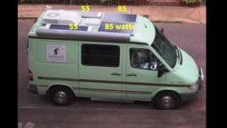 Custom Camper Van Conversion, Part 5: RV Electricity & Solar Power