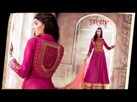 Latest fashion  front Jacket Designer Anarkali