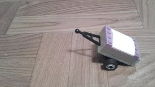 как сделать прицеп для машины из LEGO