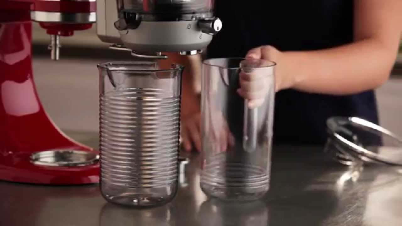 How To: Set Up the Juicer & Sauce Attachment | KitchenAid