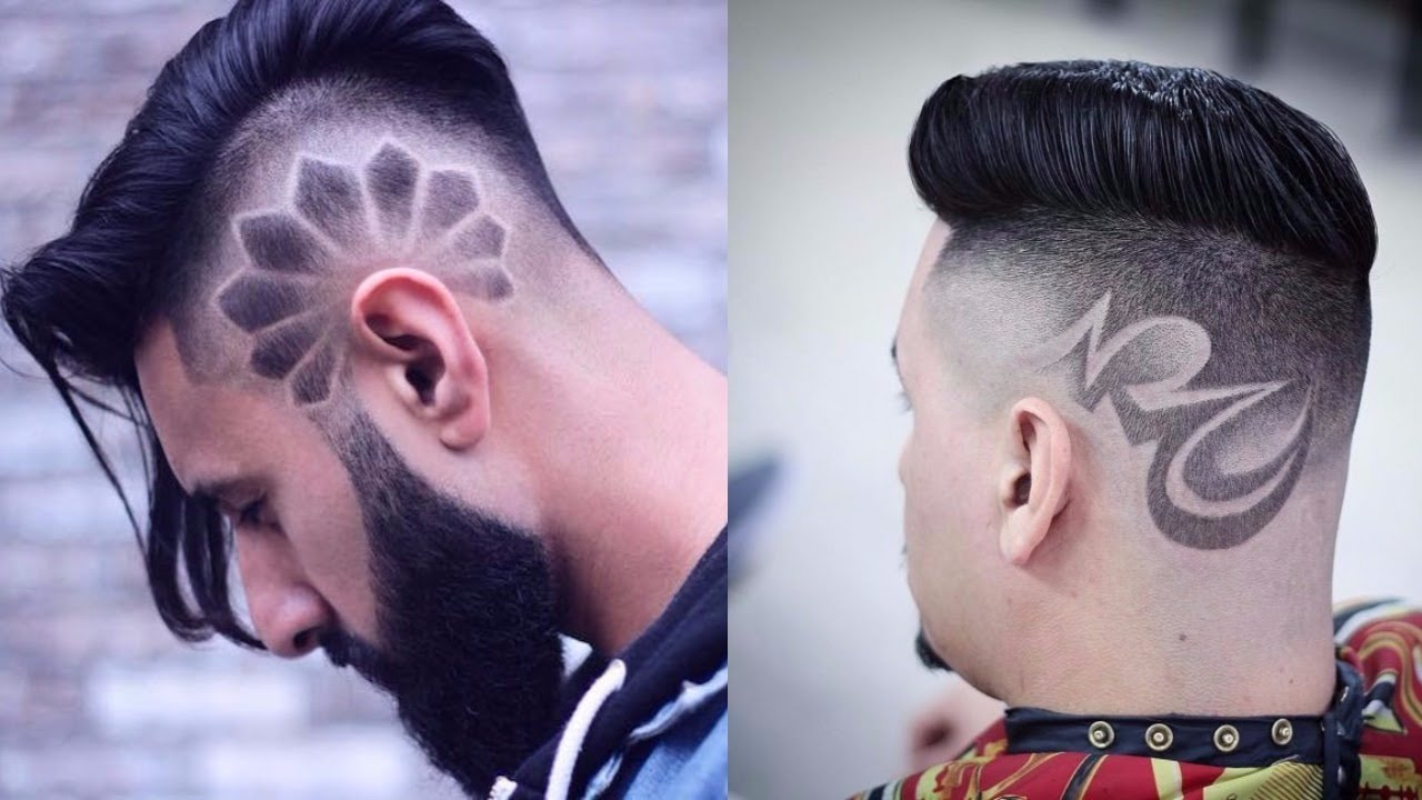 men's hairstyles design 2017-2018
