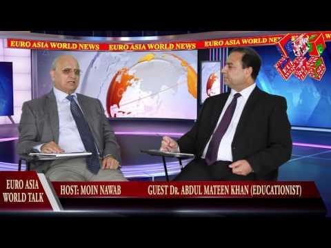 EURO ASIA WORLD NEWS 25.07.16 DR A Mateen