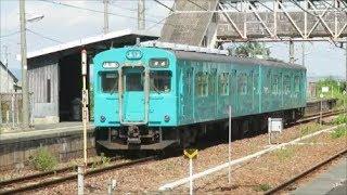 【105系普通列車を惜別撮影】JR桜井線(万葉まほろば線)櫟本駅にて