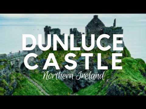 Dunluce Castle-Irish Castle Ruins in 360 Degree Video. Amazing Irish Castle Ruins near Portrush