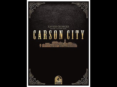 Carson City: How to Play & Explanation of all Variants Currently Available