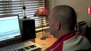 In studio with Olav Basoski 1