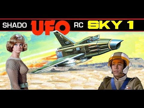 RC Shado Sky-1 jet From U.F.O.