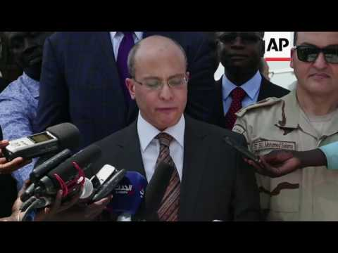 Egypt sends plane with food assistance