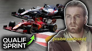 UNE COURSE QUALIFICATIVE EN FORMULE 1 ?!