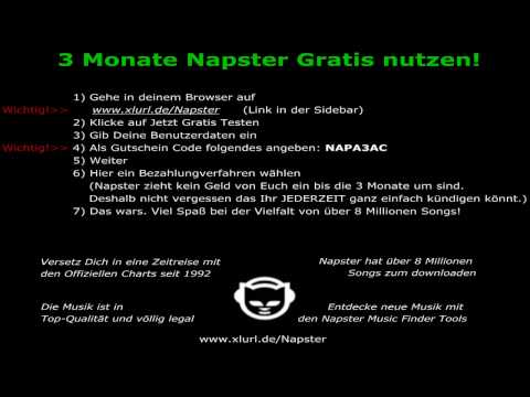::So gehts - Napster Mp3 Flatrate 3 Monate Gratis