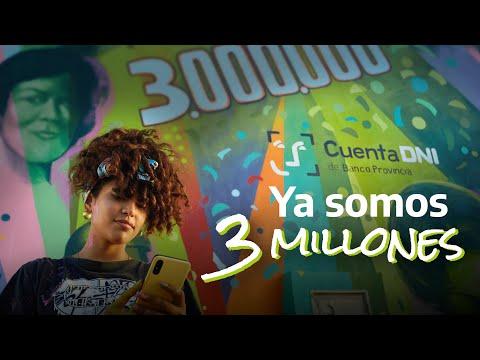 Banco Provincia | Buenos Aires | Cuenta DNI | Somos 3.000.000