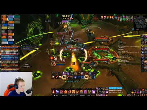 Mythic Antoran High Command - Fire Mage PoV