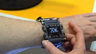 DIY наручные часы.(По времени изготовление этих часов заимеет один субботний вечер. Вам понадобятся: 1. Модуль MP2864 OLED - OLED диспл..., 2015-03-26T12:12:35.000Z)