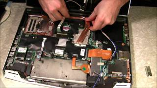 Alienware M17X R2 CPU upgrade from i5 Dual Core to i7 Quad Core engineering sample