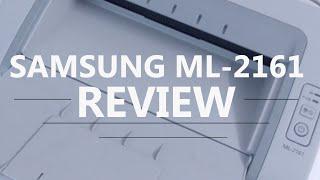 Samsung laser printer ML 2161 - Review
