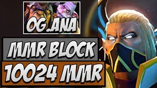 Dota 2 Gameplay - Abed Invoker blocks Ana's Alchemist to 10K MMR