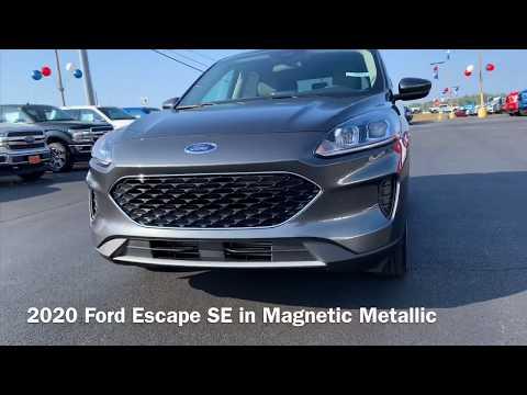 2020 Ford Escape SE in Magnetic Metallic