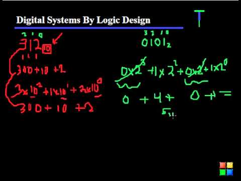 1 - Binary Numbers - Digital Systems by Logic Design