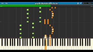 Electroman Adventures Waterflame Piano PDF