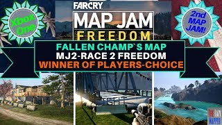 Far Cry Map Jam 2 Freedom Winner MJ2-Race 2 Freedom By Fallen Champ for Players Choice