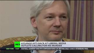 Assange feels threatened by both Republicans & Democrats following Clinton email leaks–Annie Machon