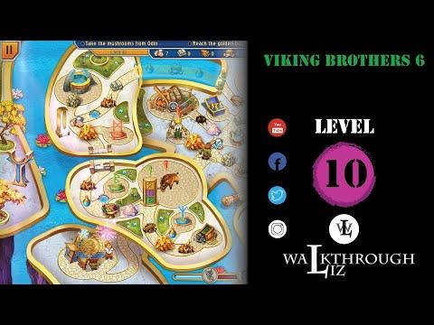 Viking Brothers 6 - Level 10 Walkthrough |