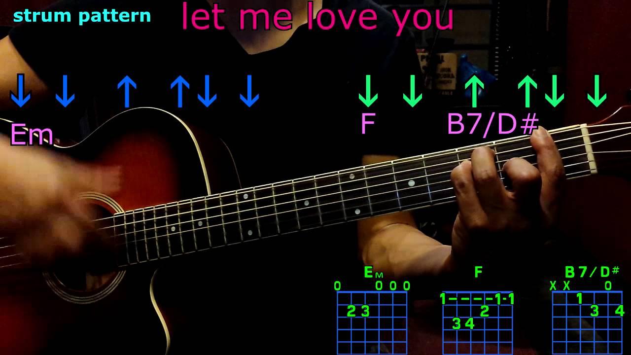 Let me love you ariana grande guitar chords youtube let me love you ariana grande guitar chords hexwebz Images
