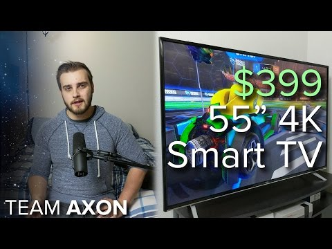 """Are 4K TVs worth it yet? - $399 TCL 55"""" 4K TV Review / Editorial"""