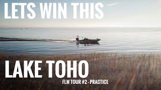LETS WIN THIS! Lake Toho - FLW Tour #2 Practice