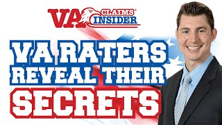 Actual VA Raters Reveal 3 *SECRET* VA Claim Tips!