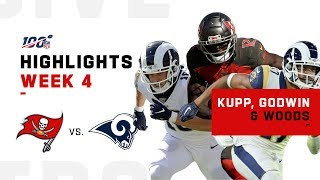 Kupp, Godwin & Woods Combine for Almost 500 Yds! | NFL 2019 Highlights