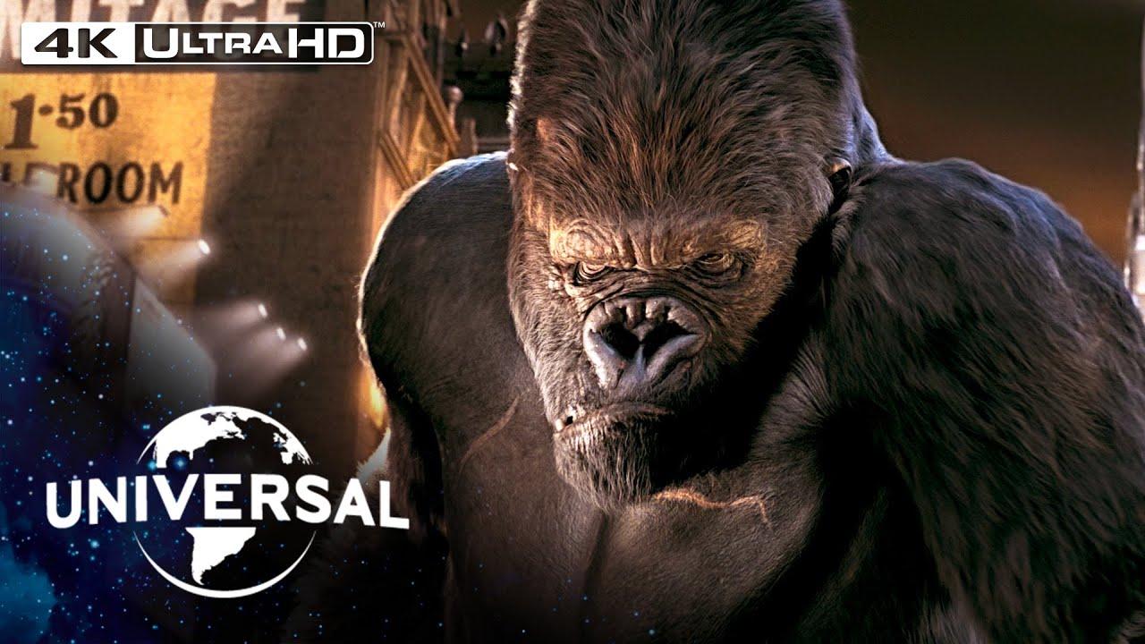 King Kong | Rampage Through New York in 4K HDR