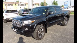 2016 Toyota Tacoma TRD Sport 4WD Walkaround, Start up, Tour and Overview