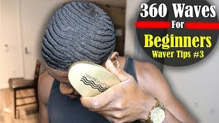 How to Get 360 Waves For Beginners: Coarse, Nappy Hair Tips 3