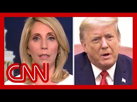 'Give me a large break here!' CNN's Dana Bash lambasts new Trump video