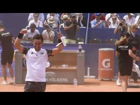 Fabio Fognini wins the 2017 J. Safra Sarasin Swiss Open Gstaad