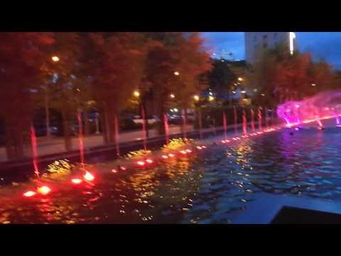 Smile Lanang Davao city music fountains