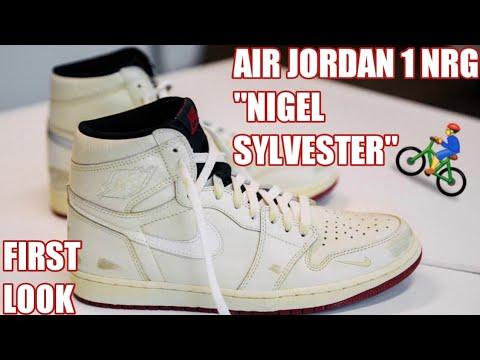 AIR JORDAN 1 NRG NIGEL SYLVESTER FIRST LOOK