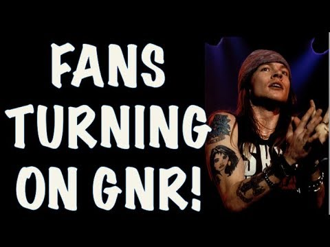 Guns N' Roses The 90's: Fans Turning Against Guns N' Roses (Spin Magazine Polls)