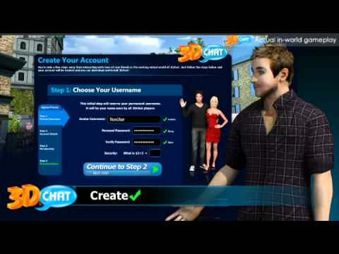 3Dchat.com Welcome Video
