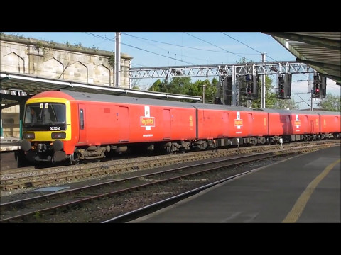 Trains at Carlisle 3rd May 2017 Day one