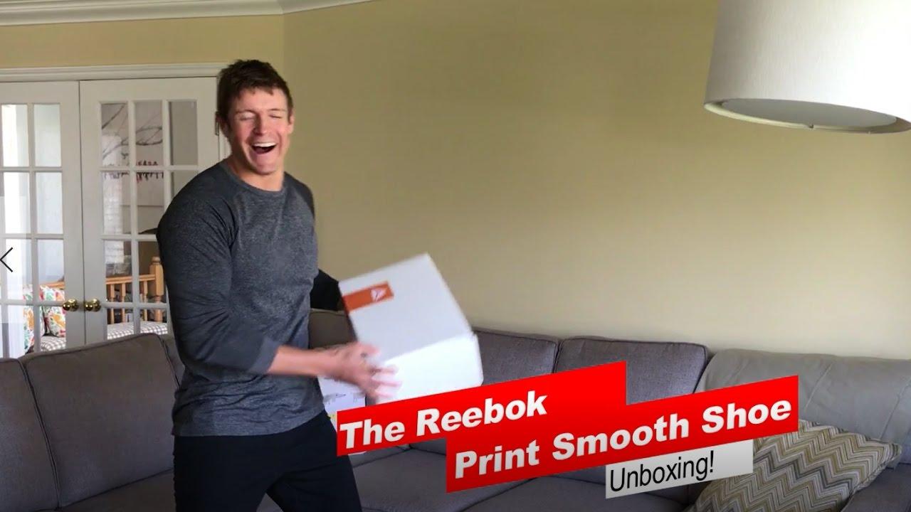 f2115ab4e3e6e9 The Reebok Print Smooth Running Shoe Unboxing -  BeMoreHuman - YouTube