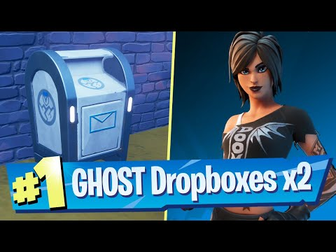 Destroy Ghost Dropboxes Using Explosives (Easy Double Location) - Fortnite Battle Royale