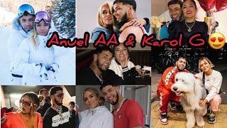 Anuel AA & Karol G 💍❤️ Conoce su historia de amor❤️