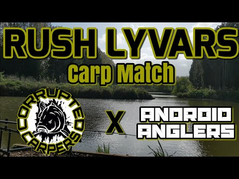 Rush Lyvars Runs Water Match Ft Android Anglers VLOG #16
