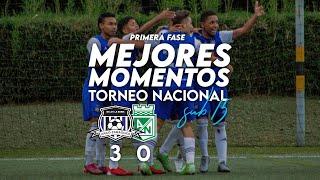 ARCO ZARAGOZA 3 - 0 Atlético Nacional   MEJORES MOMENTOS   Torneo Nacional sub 15 Primera fase