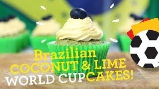 Brazilian World Cupcakes! Recipe: Gluten Free, Dairy Free, Egg Free, Nut Free & Soya Free