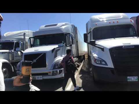 Trucking First Trip- Winnipeg to California