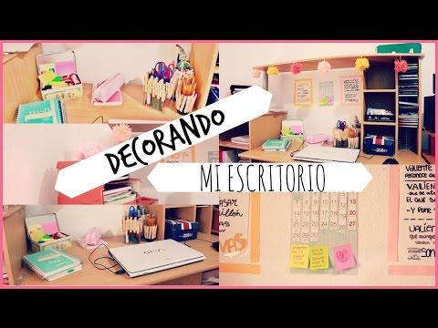 Como organizo mi escritorio tour en mi oficina doovi for Como adornar mi escritorio de oficina